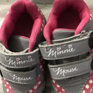 Other - Toddler Minnie Mouse shoes